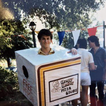 Me in Pizza Box